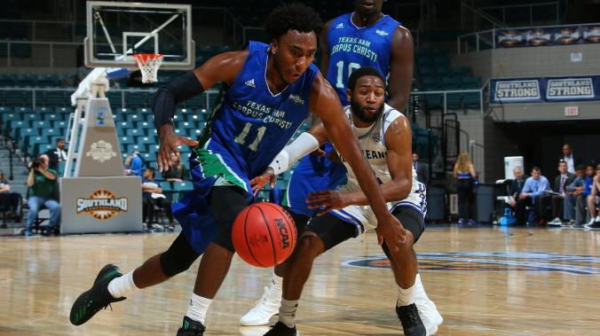Image result for Sam Houston State Bearkats vs Texas A&M-CC Islanders College Basketball 2019