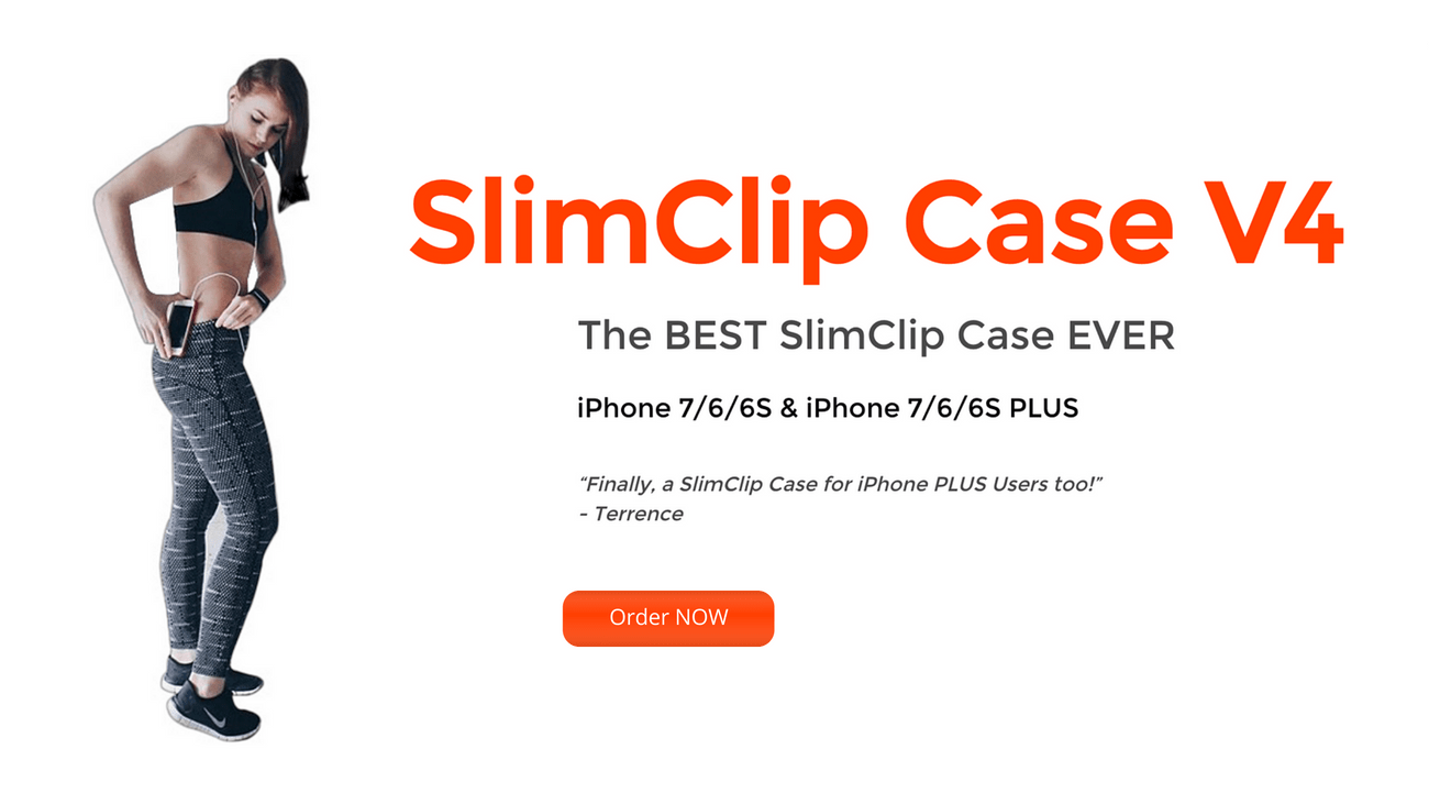 SlimClip Case V4 for iPhone 7 / iPhone 6 / iPhone 6S / iPhone 7+