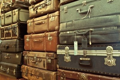 Getting rid of old baggage – some of it anyway.