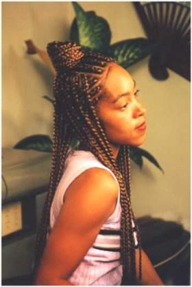 Women's Hairstyles - French Braid Cornrows
