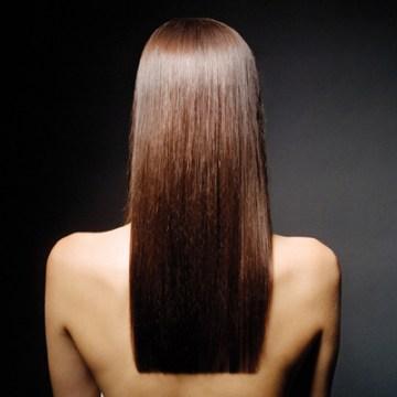 Women's Hairstyles - One Length Hair Cut