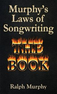 Murphy's Laws of Songwriting - The Book cover