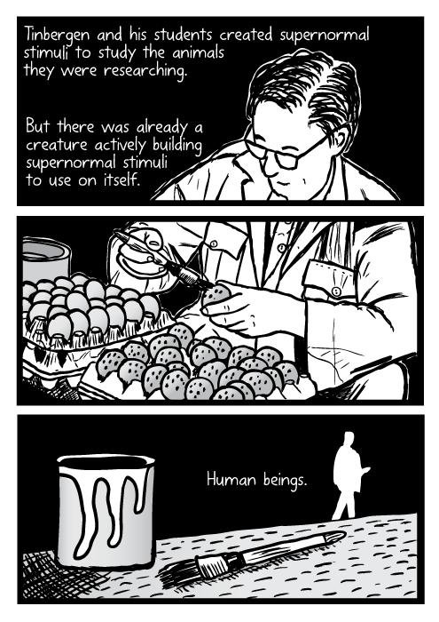 Supernormal stimuli comic - part 10