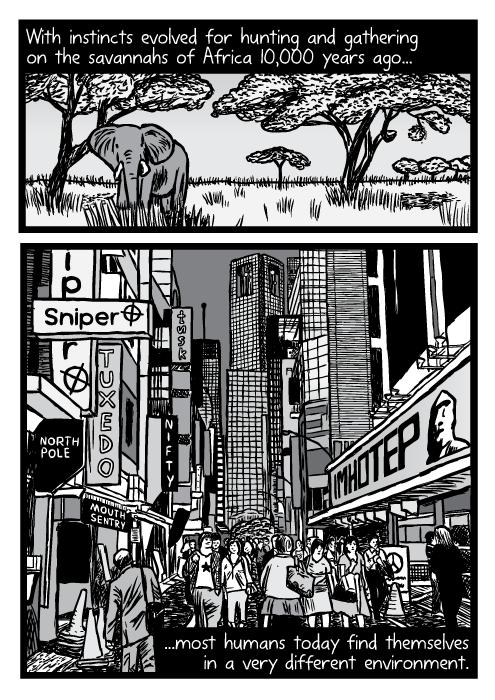 Supernormal stimuli comic - part 11