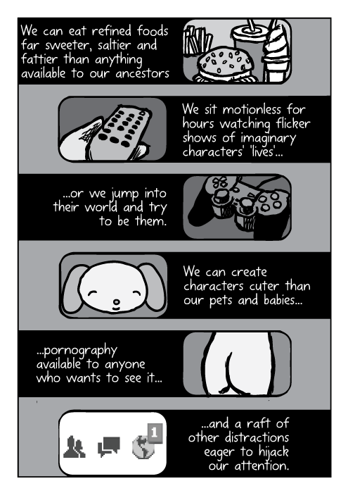 Supernormal stimuli comic - part 13