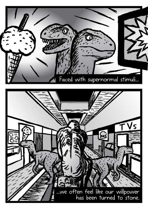 Supernormal stimuli comic - part 16