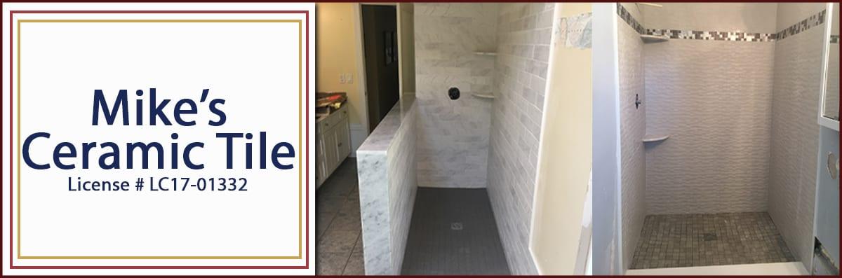 mikes ceramic tile llc installs