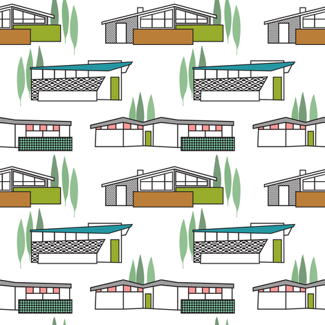 Mid-Century Homes Retro Fabric, Top Ten Cool Retro Fabrics