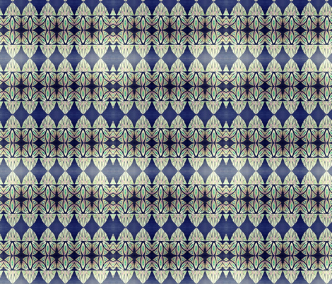 Diamond Blue  fabric by taylorsteele on Spoonflower - custom fabric