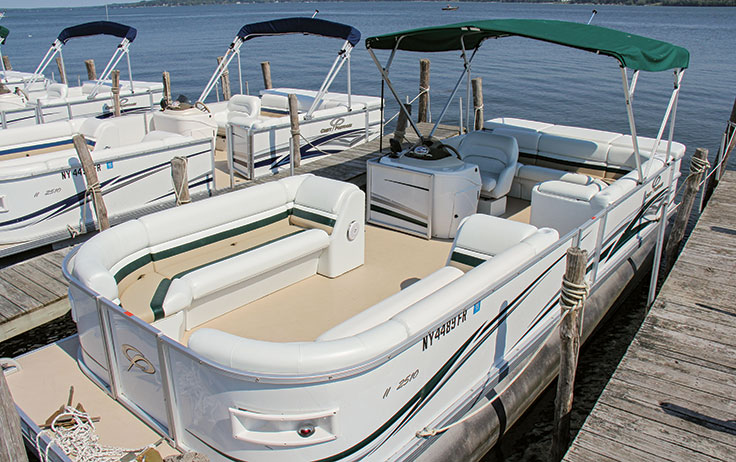 how to update a pontoon boat