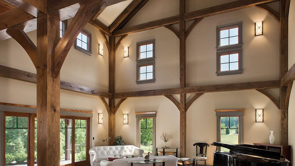 3 tips for lighting your vaulted ceiling