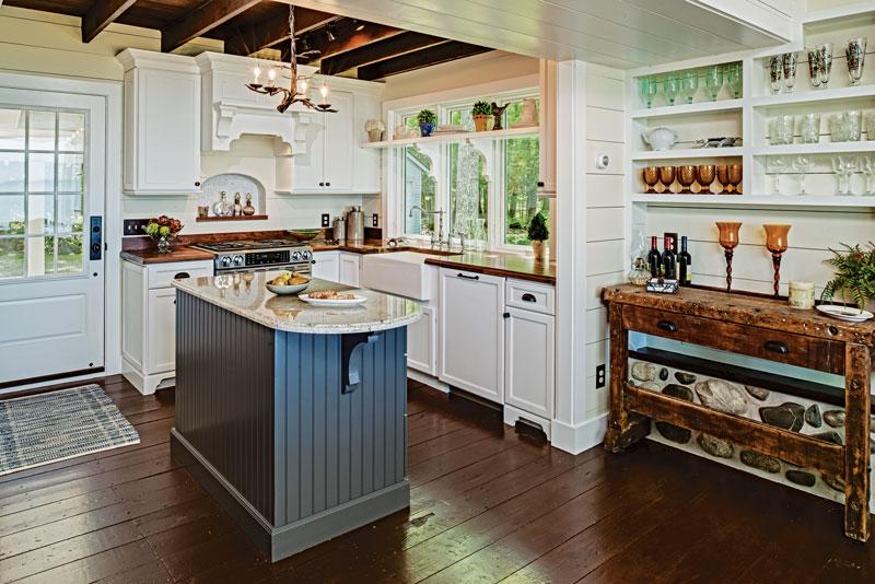 Small Cabin Kitchen Design Inspiration