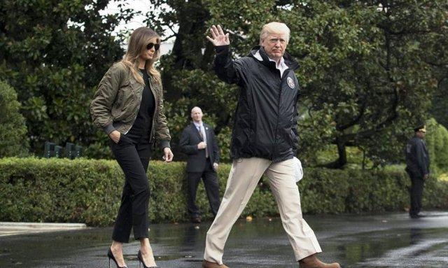 Melania Trump en Texas