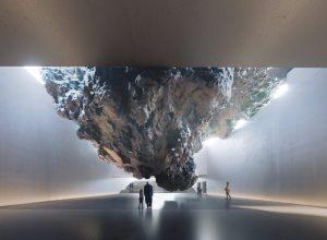 Un meteorito como imagen del holocausto