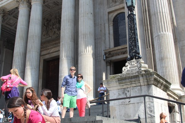 Us at St. Paul's