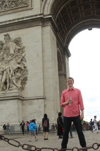 Tyler and Arc de Triumph