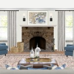 Classic Traditional Transitional Living Room Design By