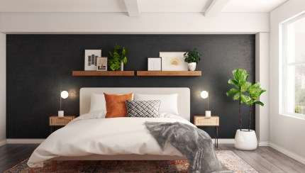Bohemian Midcentury Modern Bedroom Design By Havenly Interior Designer Seireen