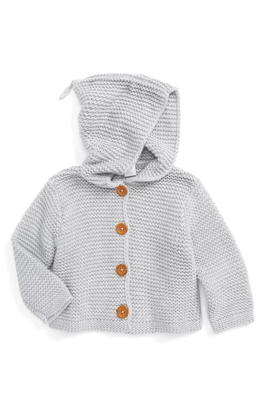 18-Gender-Neutral-Baby-Looks-We're-Loving-Right-Now-Baby-Organic-Cotton-Hooded-Cardigan