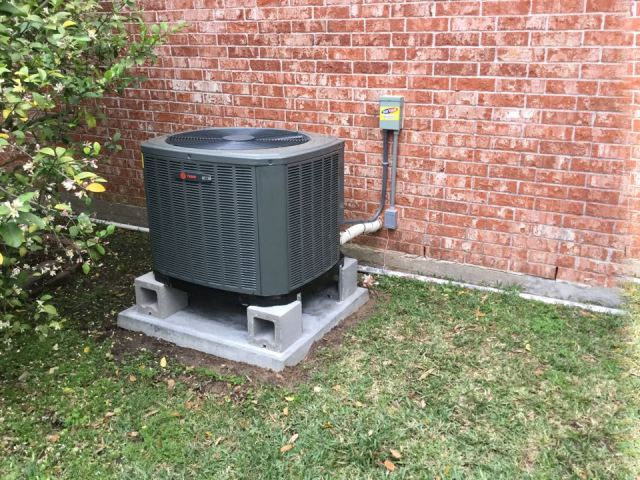 Houston, TX - Performed Quality Assurance on new installation of Trane condenser and evaporator coil at a residence in Clear Lake