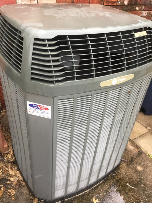 Santa Fe, TX - Tune up on Trane unit in Santa Fe Tx
