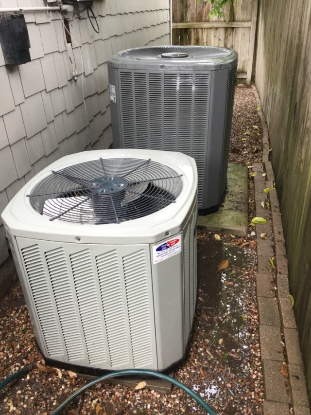 Bellaire, TX - Performed routine maintenance on two Full Trane systems