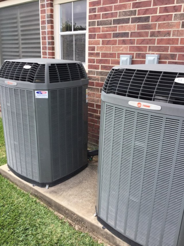 Friendswood, TX - Ac tune up on Trane units everything running great