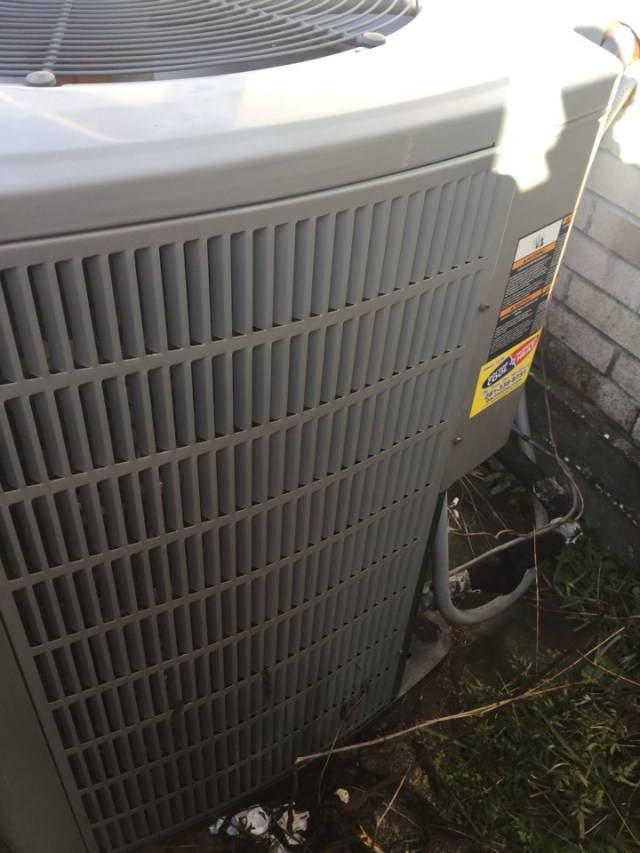 La Porte, TX - Ac tune up on American standard unit in La Porte