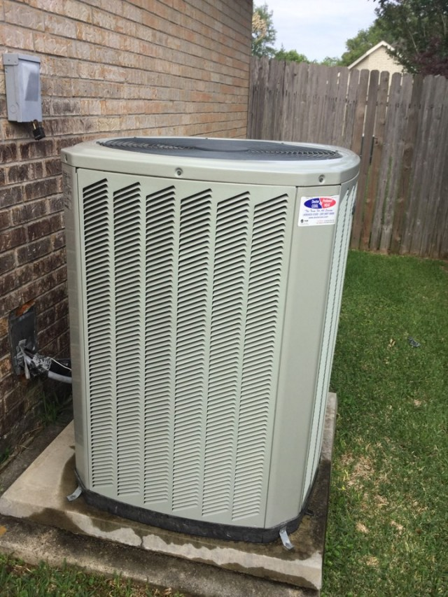 League City, TX - Ac tune up on Trane unit