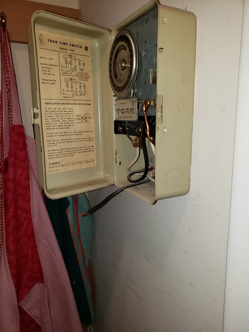 Wake Forest, NC - Disconnecting hot water timer