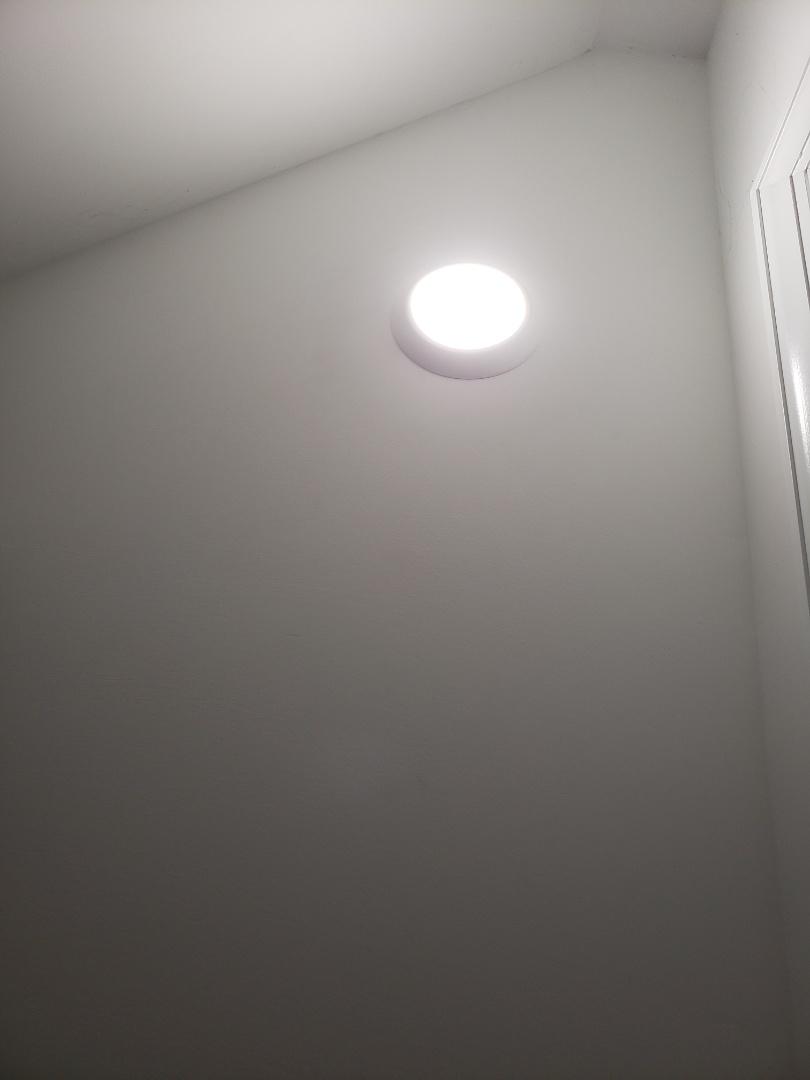 Raleigh, NC - Installing closet light