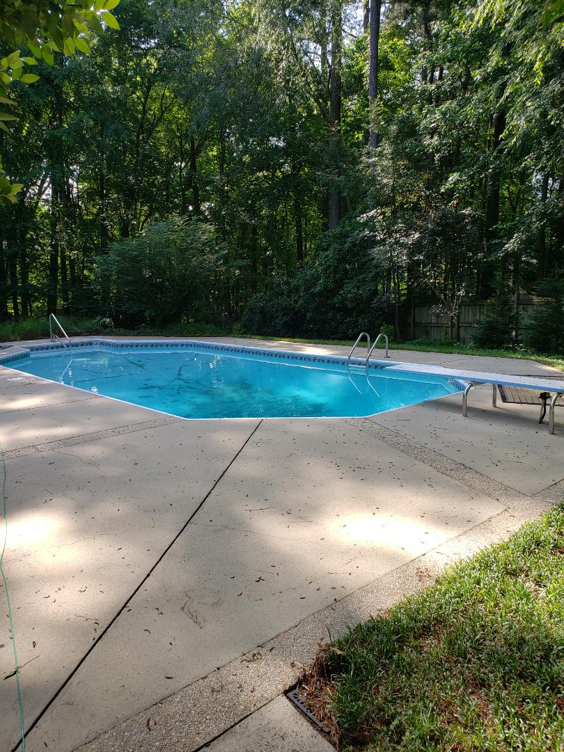 Cary, NC - Pool inspection