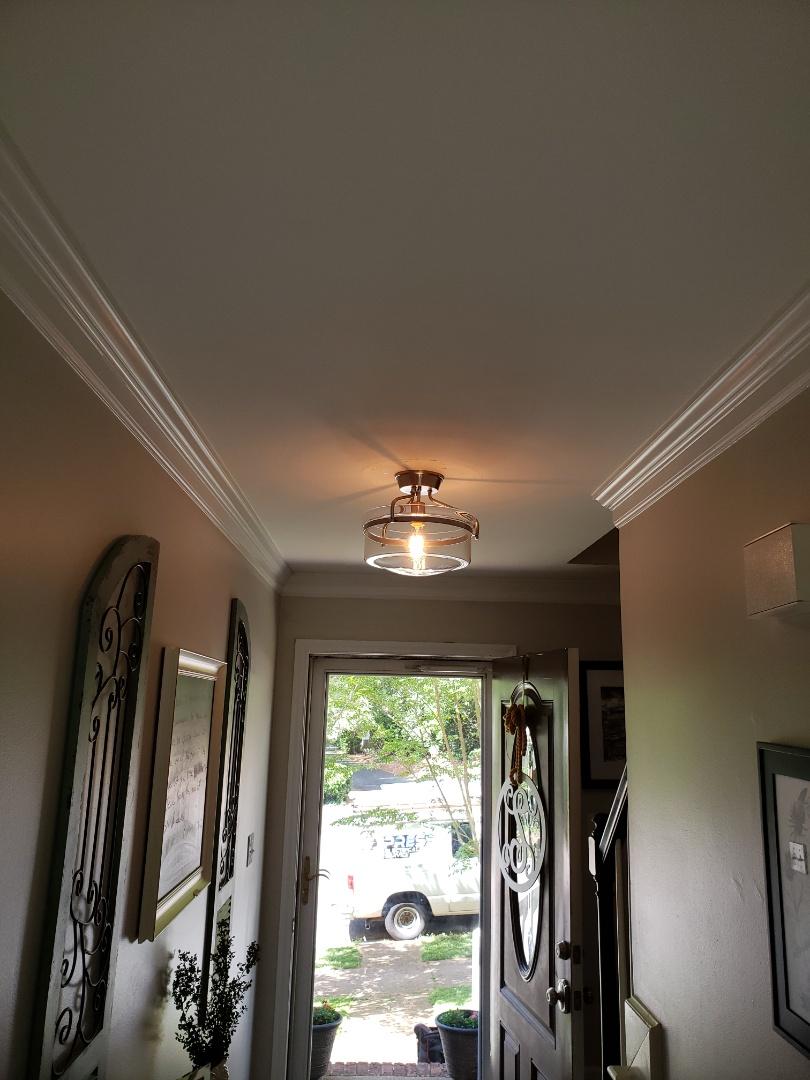 Raleigh, NC - Hang light fixtures