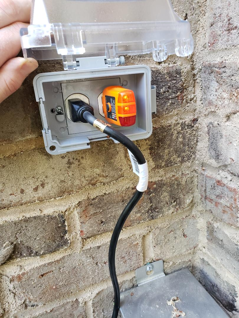 Cary, NC - Fixing landscape transformer cord