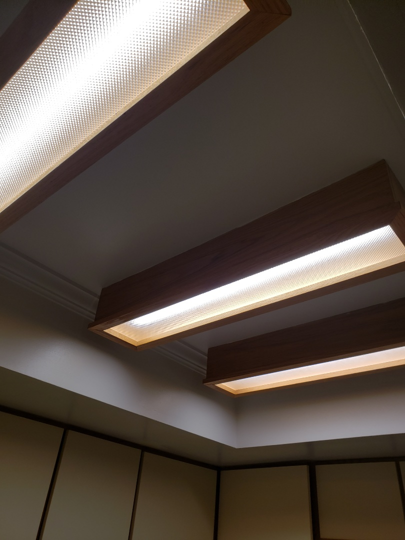 Durham, NC - Replacing fluorescent lights with led lights