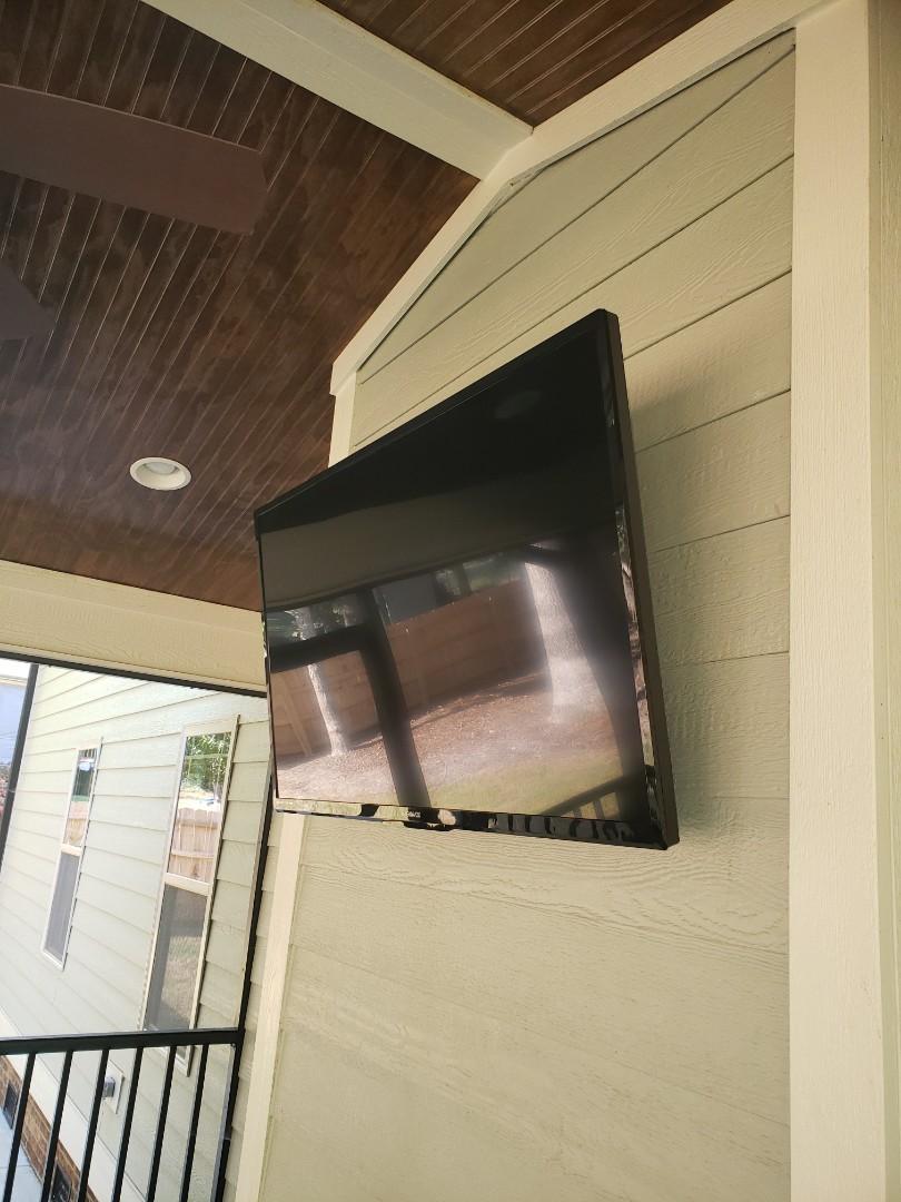 Cary, NC - Hanging tvs