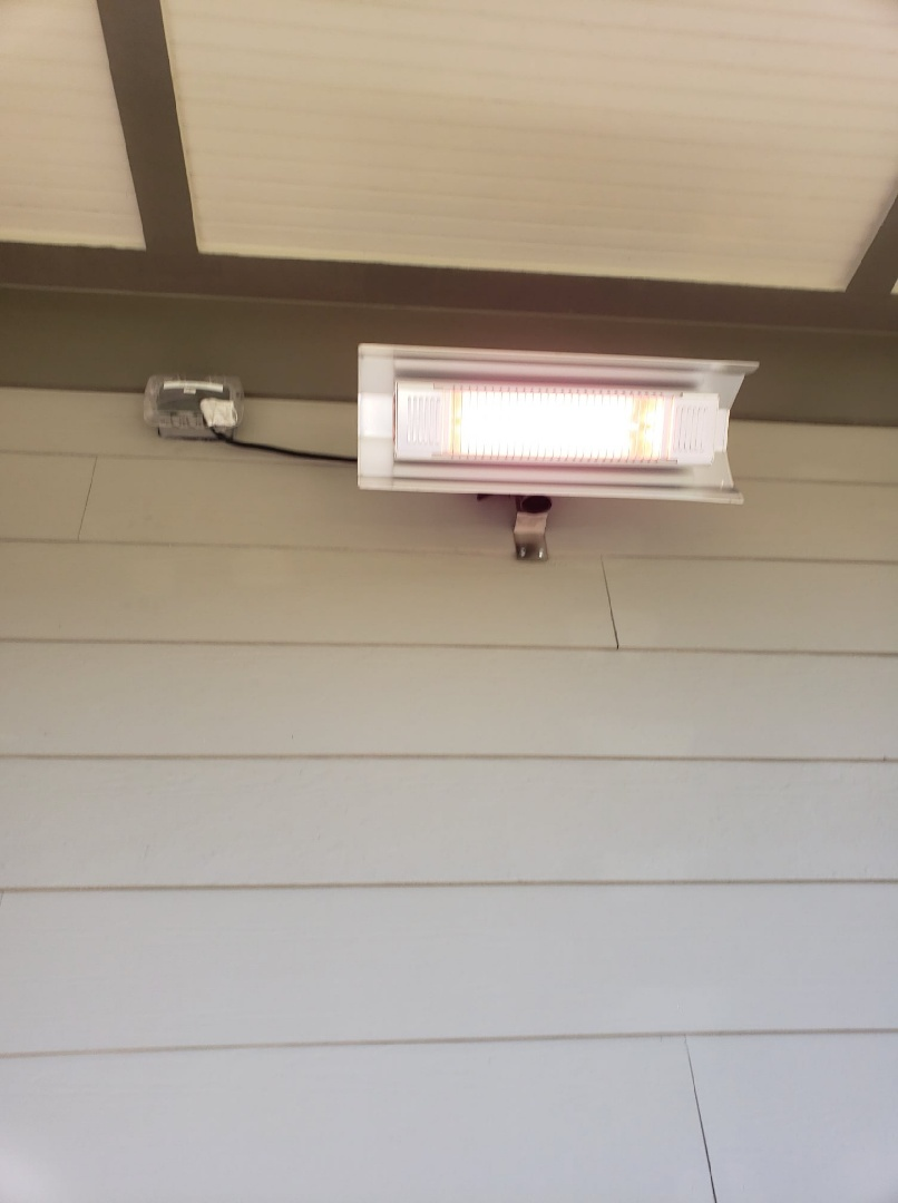 Chapel Hill, NC - Install new circuit for back porch heater