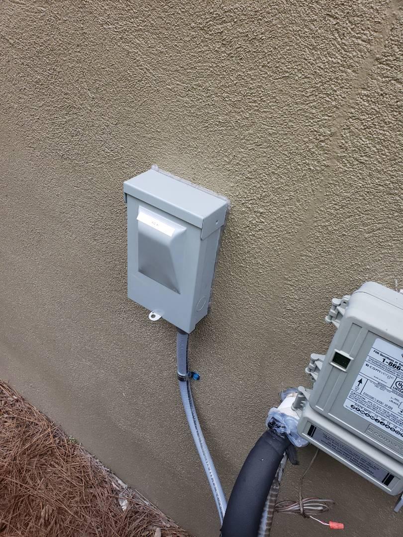 Cary, NC - Inspect new HVAC unit