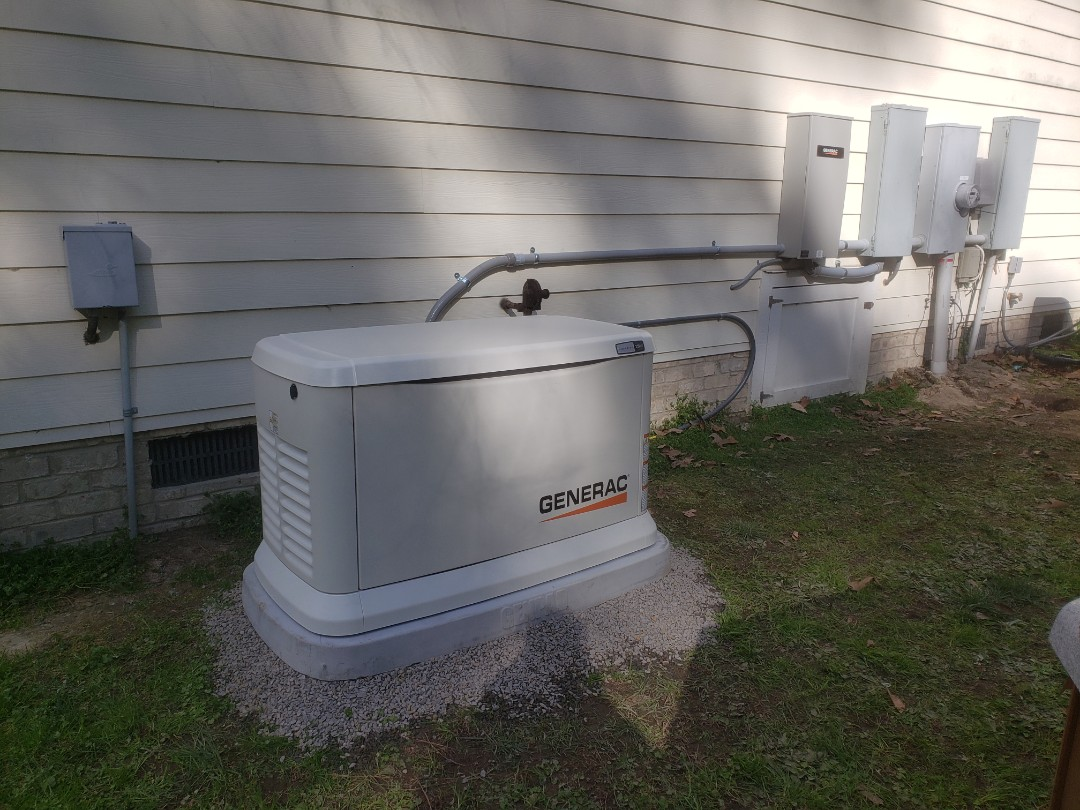 Chapel Hill, NC - Install a new 22kw whole house generator by generac