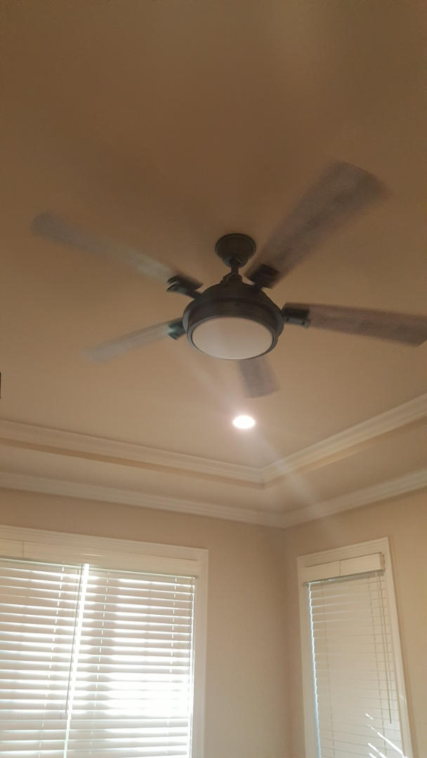 Wake Forest, NC - Ceiling fan install and car charger
