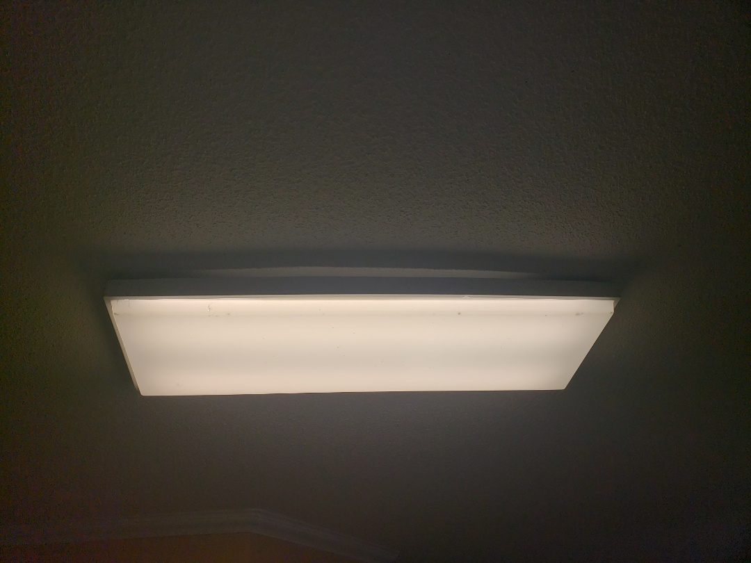 Raleigh, NC - Replace two ballasts in florescent fixture in kitchen
