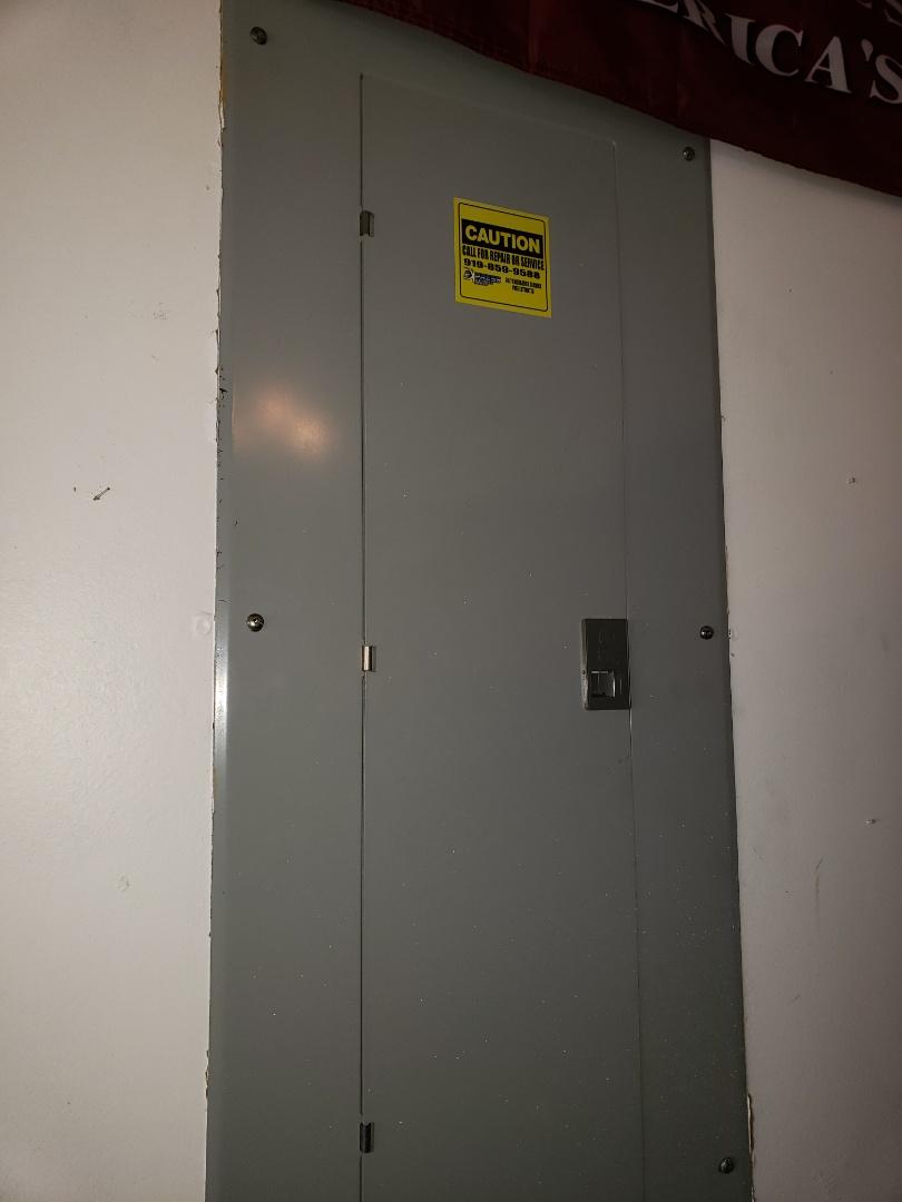 Raleigh, NC - Rapair faulty breaker for dryer unit