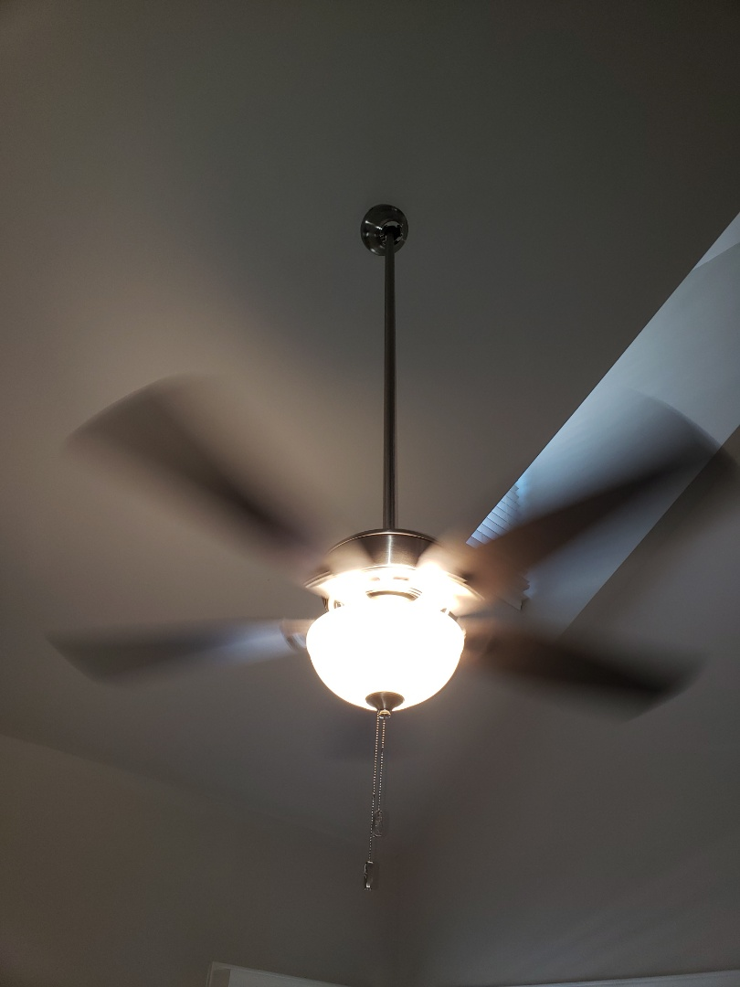 Raleigh, NC - Install 3 ceiling fans and add 3 can lights