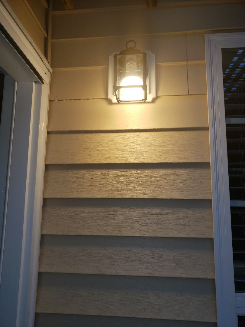 Cary, NC - Fix electrical problems with back porch light
