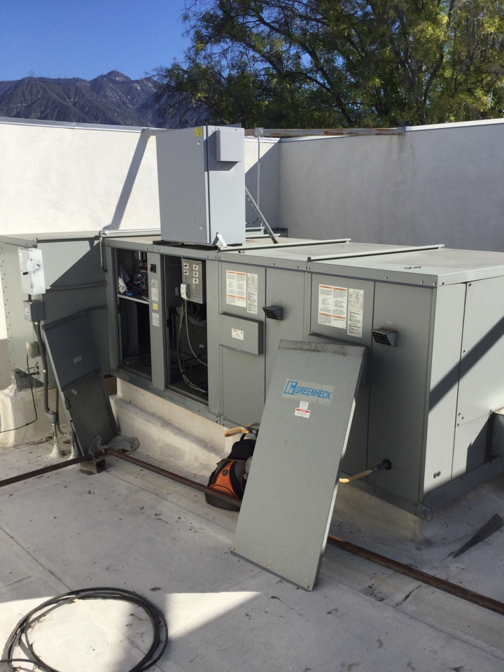 Pasadena, CA - Commercial package unit troubleshooting