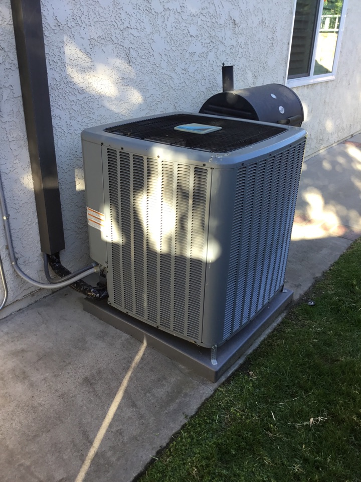 Lake Forest, CA - Preventative maintenance on residential split unit