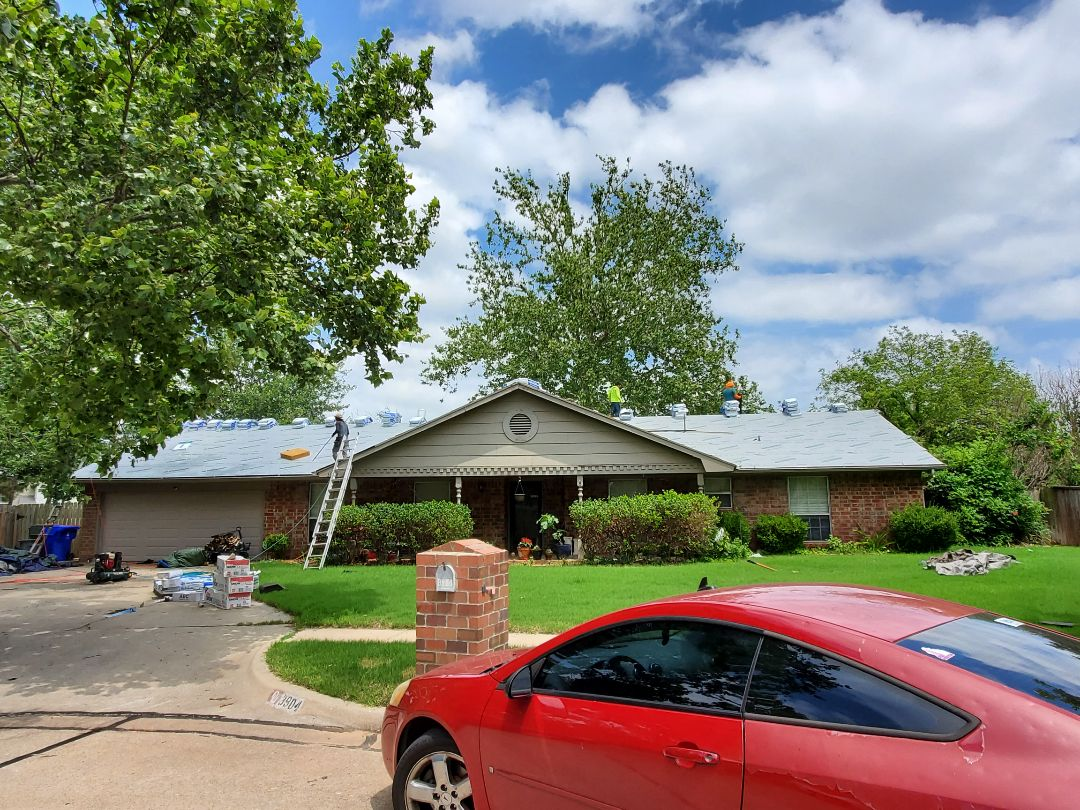 Norman, OK - Roofing System install project started.