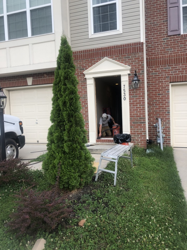 Glen Burnie, MD - Front door replacement