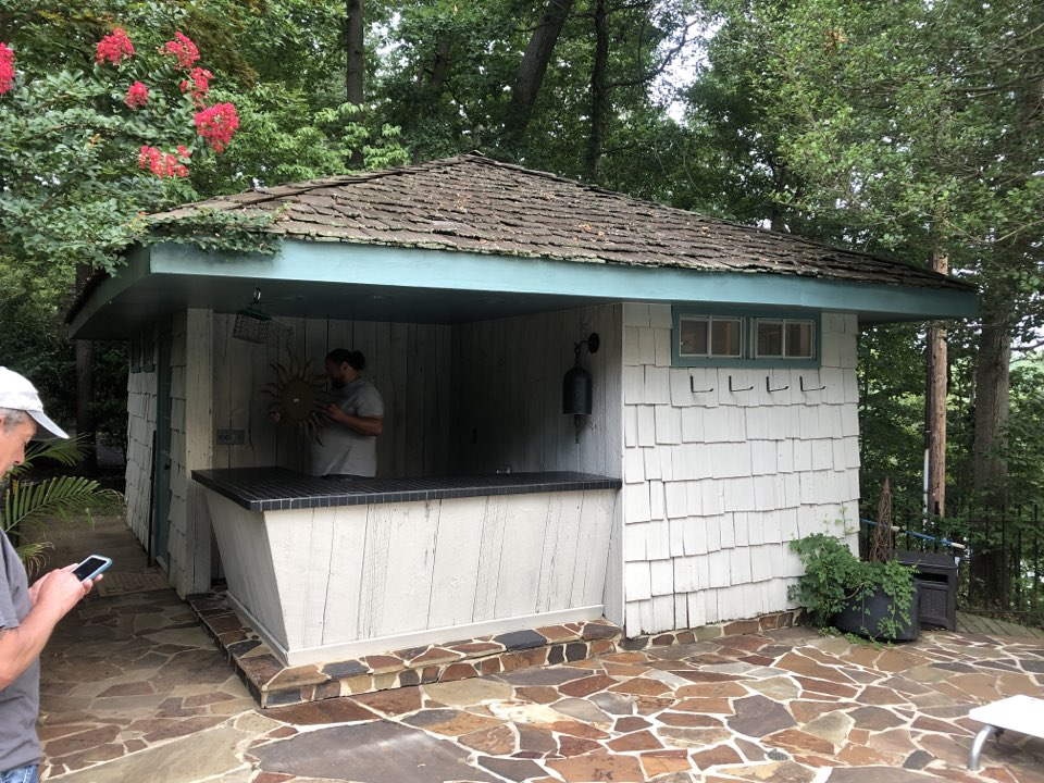 Davidsonville, MD - Pool house remodel