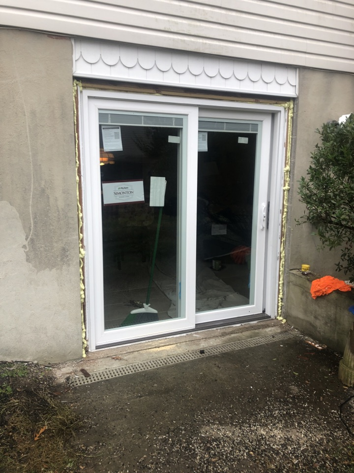 Millersville, MD - Slider door replacement